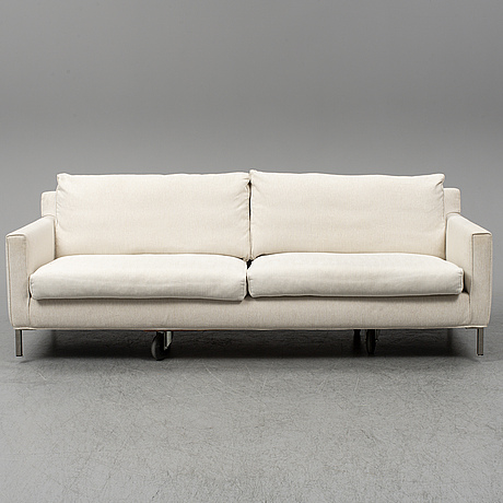 A 'streamline' sofa by eilersen.