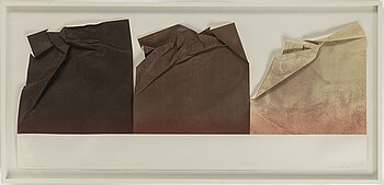 SUSAN WEIL, mixed media. Signed and numbered 15/60. Dated 1979.