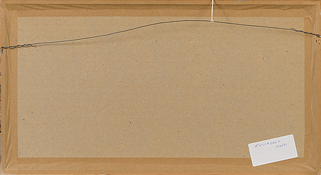 Matti kujasalo, serigrafia, signeerattu ja päivätty -78, numeroitu 32/50.
