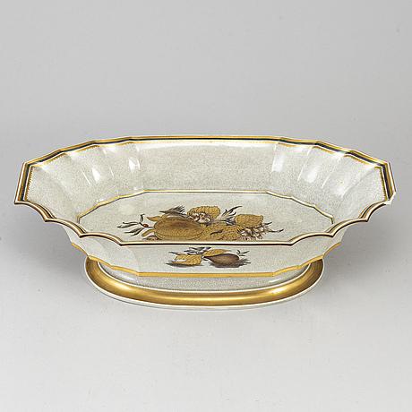 A large porcelain jardinière, royal copenhagen, attributed to thorkild olsen.