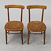 """A set of ten """"donau"""" chairs, gemla, second half of the 20th century."""