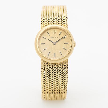 Rolex, armbandsur, 24 mm.