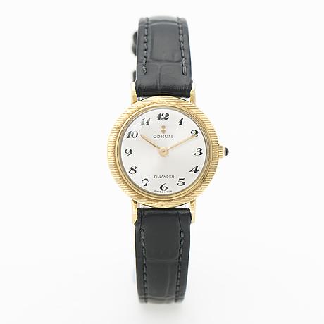 Corum, armbandsur, import tillander helsingfors, 24 mm.