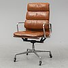 Charles and ray eames, soft pad chair, herman miller.
