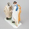 Herend porcelain figurine 20th century.