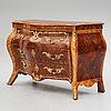 A swedish rococo 18th century commode attributed to n. korp.