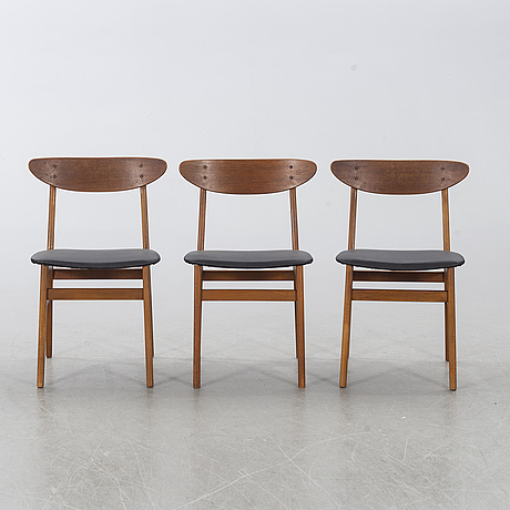 6 chairs, fastrup, danmark.