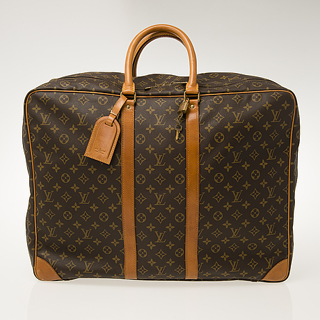 Louis vuitton, monogram canvas sirius suitcase.