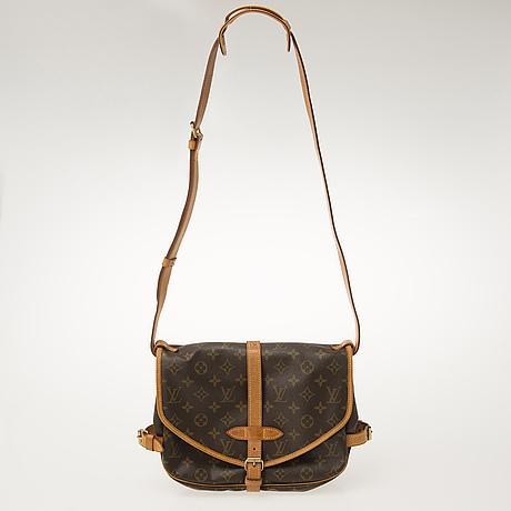 """Louis vuitton, """"saumur"""", väska."""