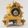 A late 19th century mantel clock.
