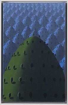 KRISTIAN KROKFORS, oil on canvas, a tergo 2012.