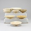 Seven ceramic bowls, south east asian, 19th/20th century.