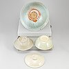 Four glazed ceramic dishes, south east asia, 20th century.