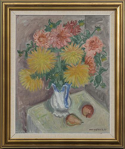 Max walter svanberg, oil on canvas, signed 35[?].
