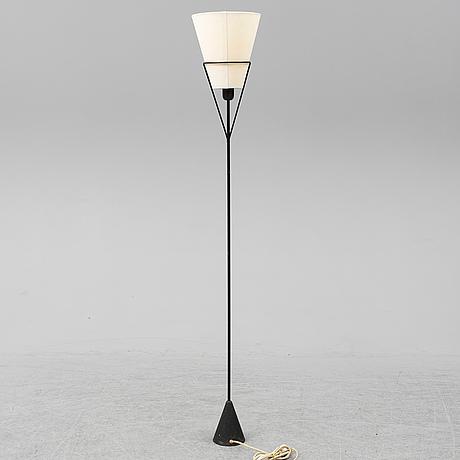 A floor lamp designed by carl auböck, asea 1950´s.