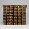 A 6 vol books, flavius josephus' jewish history, 1713-1752.