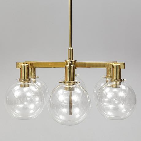 Hans-agne jakobsson, a celing light, model t348/6, markaryd, 1960s.
