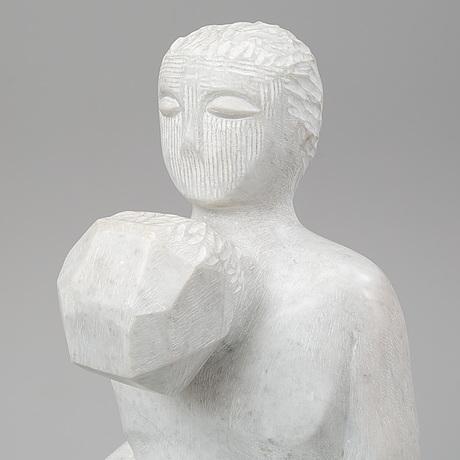 Raul farco, sculpture, carrara marble.