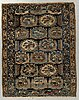 Matto, an antique/a semi-antique northwestern persian, ca 158-159 x 124-126,5 cm.