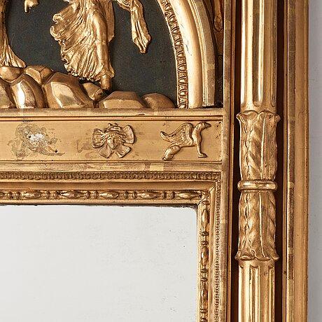 A swedish empire mirror.