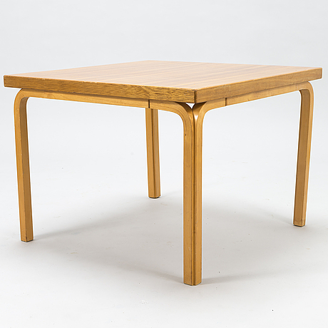 Alvar aalto, a mid-20th century coffee table for artek.