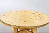 A roland wilhelmssons dining table.