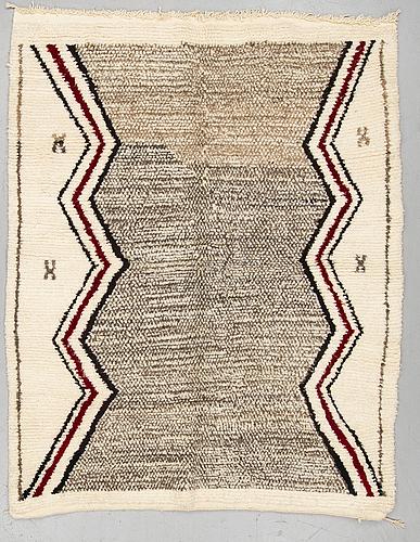 A rug, morocco, ca 192 x 150 cm.