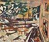 Eric hallstrÖm, oil on relined canvas, signed eric hallström.