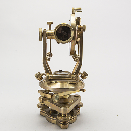 Theodolite, newman & guardia, london  england, 20th century first part.