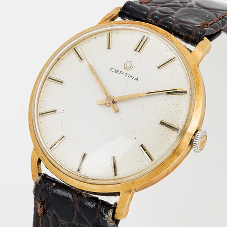 Certina, wristwatch, 34 mm.
