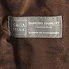 A mink fur jacket from saga mink, size circa m.