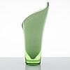 Gunnel nyman, a 'calla' vase signed riihimäen lasi oy, gunnel nyman.