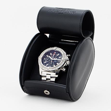 Breitling, super avenger, chronometre, chronograph, wristwatch, 48,4 mm.