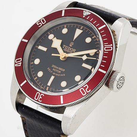 Tudor, heritage black bay (200m:660ft), wristwatch, 41 mm,