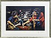 Ron wood, serigraph, signed, 8/290.