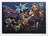 Ron wood, serigraph, signed, 6/290.