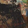 Anders zorn, spanish beauty in black mantilla.