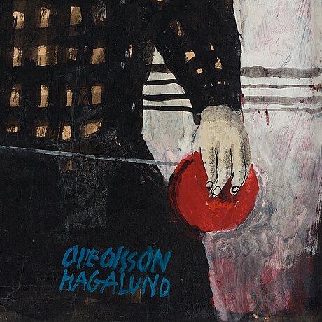 """Olle olsson-hagalund, """"flicka med röd jojo""""."""
