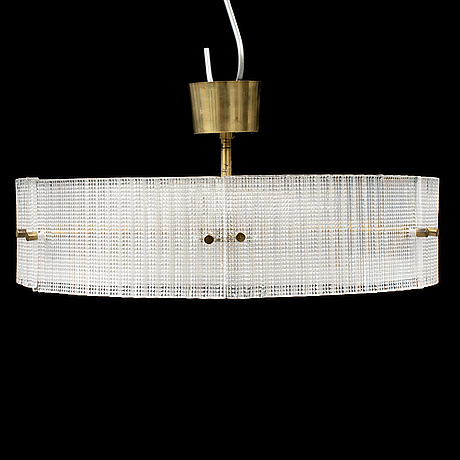 Carl fagerlund, a glass ceiling light from orrefors.