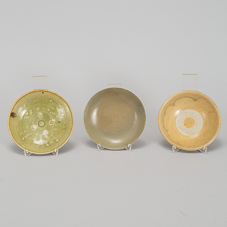 A group of seven southeast asian ceramics, 19th century and later.