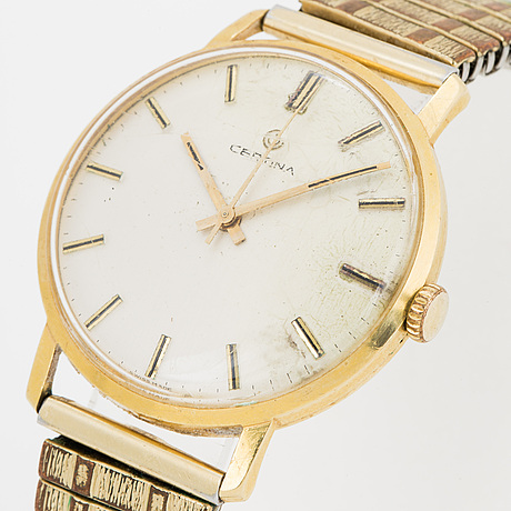 Certina, armbandsur, 34 mm.
