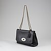 Mulberry, a black leather 'lily' handbag, 2018.