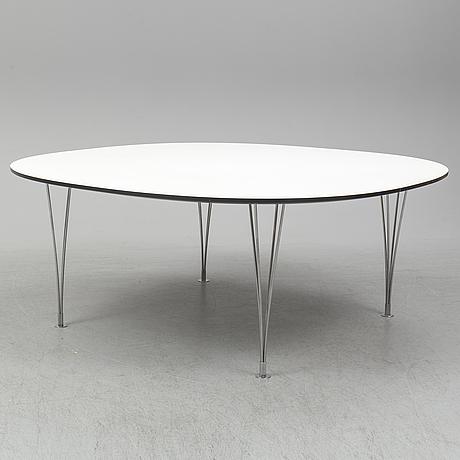 Bruno mathsson & piet hein, a 'supercirkel' table, bruno mathsson international, värnamo, 2013.