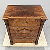 A late 19th century chest of drawers.