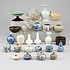 A group of 25 southeast asian ceramics, mostly 20th century.