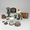 A group of 16 southeast asian objects.