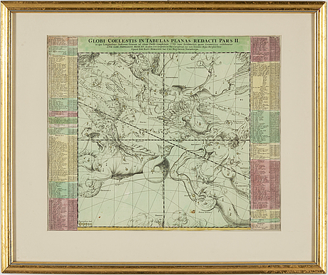 Map/engraving by jb homann (1664-1724).