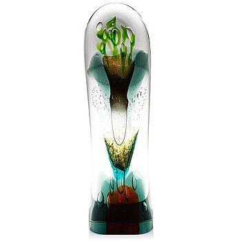 OIVA TOIKKA, a 'Latina III' glass sculpture, signed Oiva Toikka Iittala 2010, numbered 7/30.