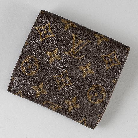 Louis vuitton, monogram canvas wallet.