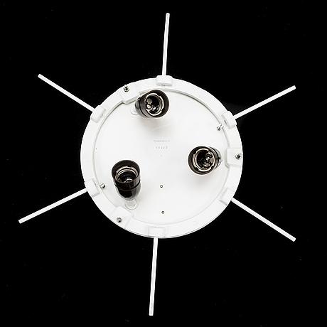 Alvar aalto, a 1950's 'a622b' ceiling light for valaistustyö.